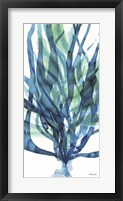 Framed Soft Seagrass in Blue 1