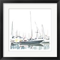Framed Sailboat Scenery I