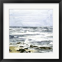 Framed Loose Seascape I