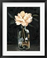 Framed Dark Rose Arrangement I