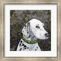 Framed Playful Pup II
