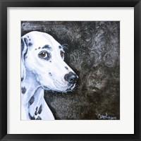 Framed Playful Pup VI