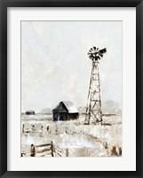 Framed Rustic Prairie II