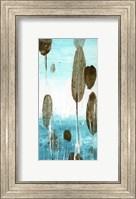 Framed Cattails I