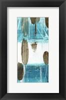 Framed Cattails III