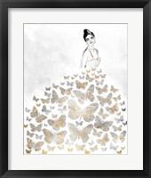 Framed Fluttering Gown I