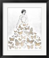 Framed Fluttering Gown II