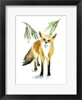 Framed Snowy Fox II