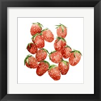 Framed Strawberry Picking I