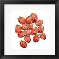 Framed Strawberry Picking II