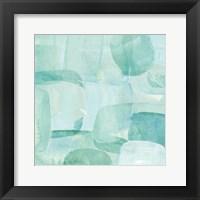 Framed Sea Glass Reflection II