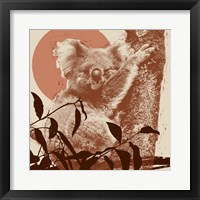Framed Pop Art Koala I