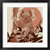 Framed Pop Art Koala II