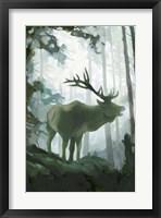 Elemental Animals II Framed Print