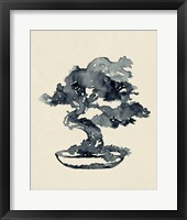 Framed Indigo Bonsai IV