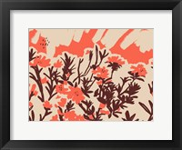 Framed Red Rhododendron I