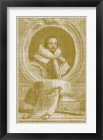 Framed Houbraken Pop IV