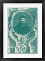 Framed Houbraken Pop VI