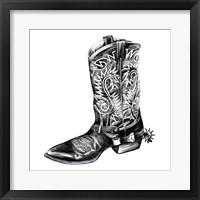 Framed Vintage Cowboy I