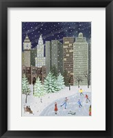 Framed Christmas in the City I