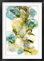 Framed Flower Facets I