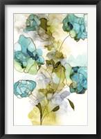 Framed Flower Facets II