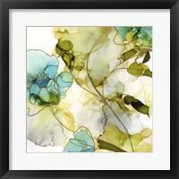 Framed Flower Facets VI