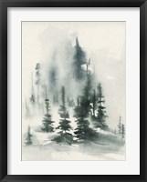 Framed Misty Winter I