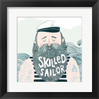 Framed Skilled Sailor I