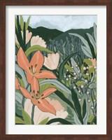 Framed Spring Valley Blooms I