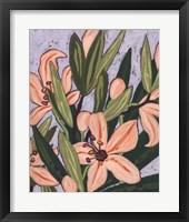 Framed Island Lily II