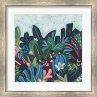 Framed Tropic Vista I