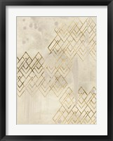 Framed Deco Pattern in Cream I