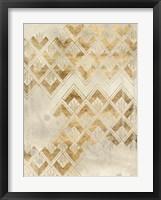 Framed Deco Pattern in Cream II