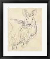 Framed Outback Sketch III
