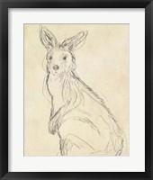 Framed Outback Sketch IV
