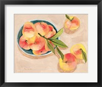 Framed Saturn Peaches I