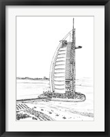 Framed Dubai in Black & White I