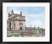 Framed Dreaming of India I