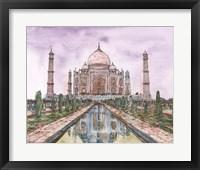Framed Dreaming of India II