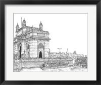 Framed India in Black & White I