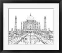 Framed India in Black & White II
