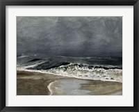 Framed Moody Sea I