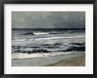 Framed Moody Sea II