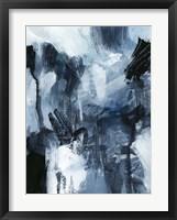 Framed Composition in Blue I