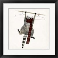Framed Rascally Raccoon I