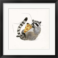 Framed Rascally Raccoon II