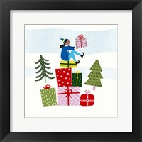 Framed Santa's Little Helpers I