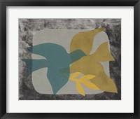 Framed Dove Composition I
