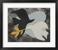 Framed Dove Composition IV